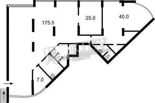 for rent office  250 m2  on lesya ukrainka 7b  kiev