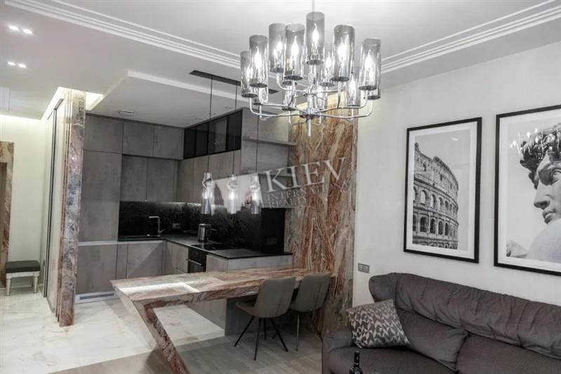 st. Lesi Ukrainki 7 V Kiev Long Term Apartment 18156