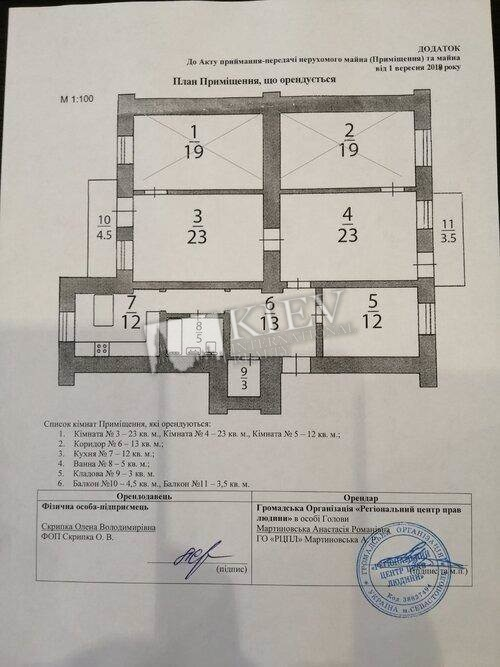st. Yaroslavov Val 21 Property for Sale in Kiev 19412