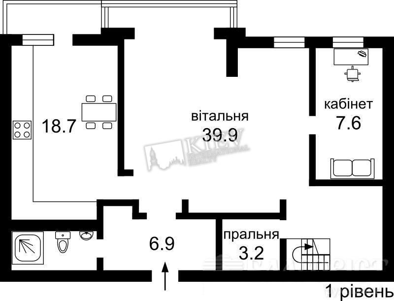 Kontraktova Square Kiev Long Term Apartment