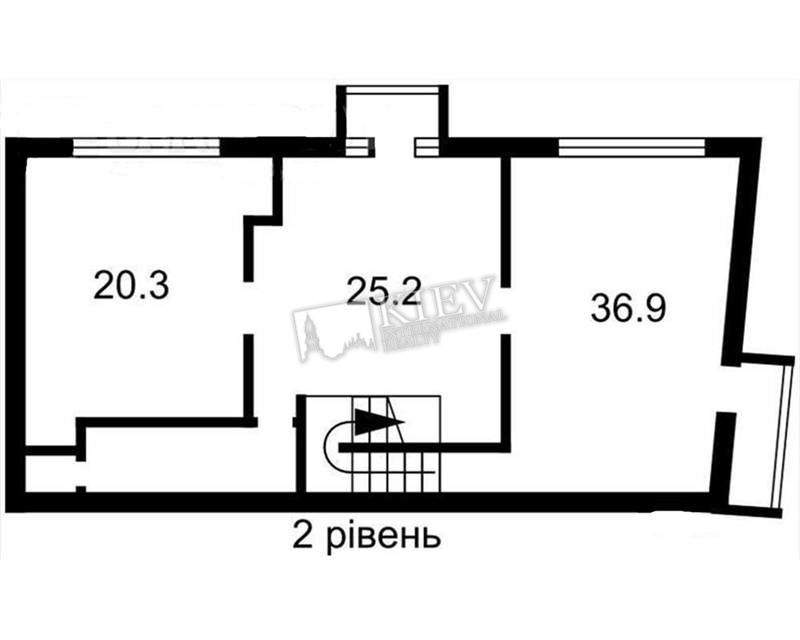 Three-bedroom Apartment st. Muzeynyy pereulok 8 9227