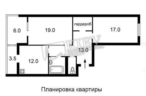 st. Malevicha 89 Apartment for Sale in Kiev 16826